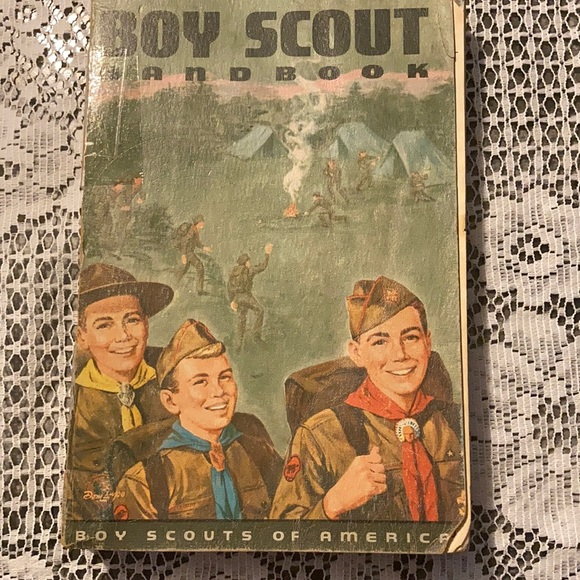 Handbook signed by Chief Scout Executive